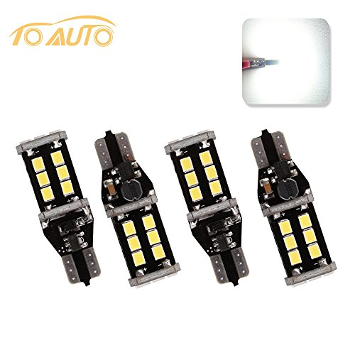 Blues Solid 14k Gold Note (TOAUTO 4 X T15 Extremely Bright Error Free T10 921 912 PX Chipsets LED Bulbs For Backup Reverse Lights, Xenon White 6000K 12V)