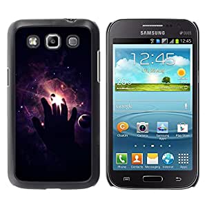 All Phone Most Case / Oferta Especial Duro Teléfono Inteligente PC Cáscara Funda Cubierta de proteccion Caso / Hard Case Samsung Galaxy Win I8550 // Space Hand
