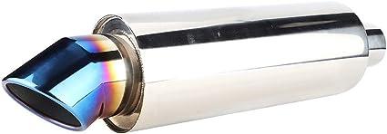Silencieux d/échappement de voiture HB227 tuyau droit de gros calibre d/émission R/éservoir de r/ésonateur d/échappement de voiture d/échappement