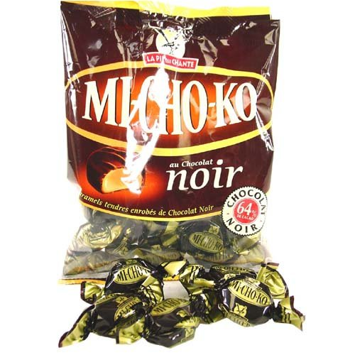 French Pie Chocolate - Michoko Caramel Candies From France, 100 gr 3.5 oz bag, Three