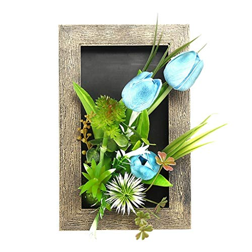 QTT Calla Lily Artificial Plant Photo Frame,Tulip,Rose, Wall Decoration,Living Room Wall Photo Frame, Home Decor Pendant, Artificial Plant Wall Hanging, Stereo Photo Frame, Frame,Plant Photo Frame, Calla Lily Lily Photo Album