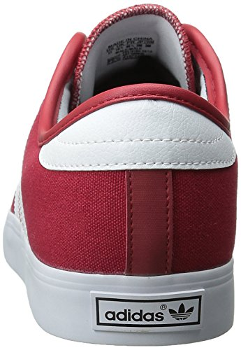 adidas Originals SEELEY de hombres Lace Up Zapatos blanco/negro (Scarlet/White/Black)