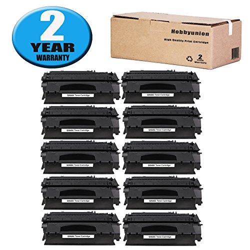 (Q5949X (49X) Toner Cartridge High Yield Black by Hobbyunion Compatible for LaserJet 1320 1320N 1320T 1320TN 3390 3392 P2014 P2015 P2015D P2015DN P2015X M2727NF (10 Pack))