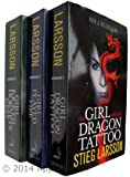 The Millennium Trilogy Collection. 3 Books. (The Girl With the Dragon Tattoo;...