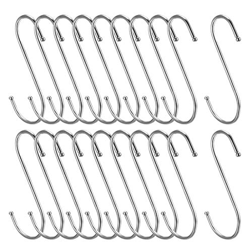 ZCHXD Metal S Hooks 4.53