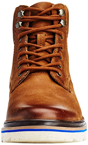 Clarks Herren Frelan Kurzschaft Stiefel Braun (Brown Warm Lined Leather)