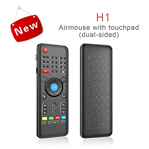 [Backlit] Touchpad & Air Mouse LONGYAO 2 4G Motion Sensor Air Mouse 6-Axis  Portable Mini Wireless Keyboard Multifunction Infrared Learning Remote