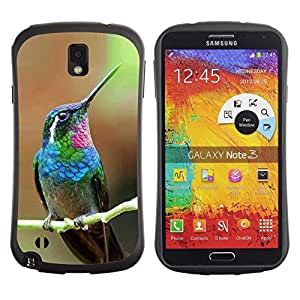 Suave TPU GEL Carcasa Funda Silicona Blando Estuche Caso de protección (para) Samsung Note 3 / CECELL Phone case / / hummingbird tiny cute tropical exotic /