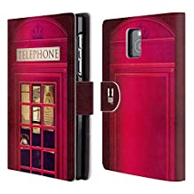 Head Case Designs K2 I Love London Leather Book Wallet Case Cover For BlackBerry Classic Q20