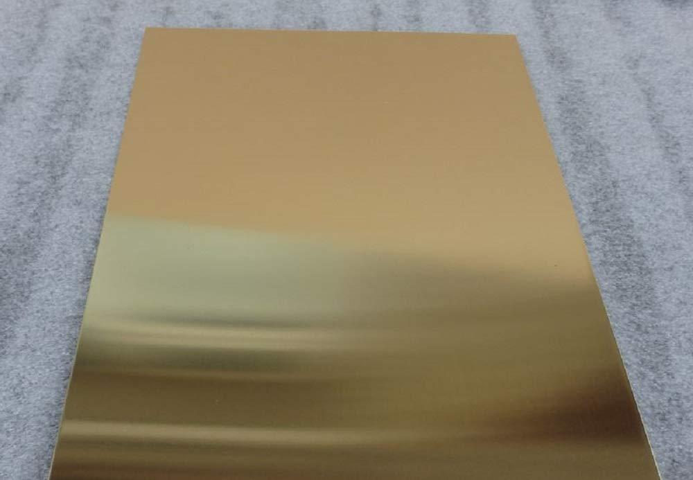 Metal Off Cuts Prime Quality 3.0mm Brass Sheet 250mm x 125mm