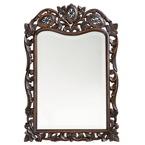 Howard Elliott 4085 St. Augustine Mirror, French Brown ()