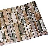 NuWallpaper NU1690 Reclaimed Wood Plank Natural Peel and