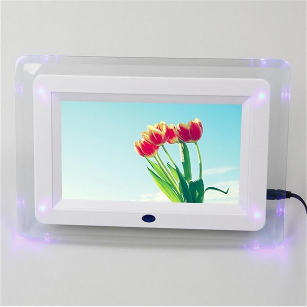 ... de alta resolución con pantalla grande de formato completo multifunción con marcos de fotos digitales de luz LED, A: Amazon.es: Deportes y aire libre