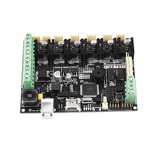 Zamtac 3D Printer Parts Controller Board Megatronics V3 Open-Source Firmware Version Integrates Marin AD597 for 3D DIY Motherboard Part - (Size: with AD597) by GIMAX (Image #2)
