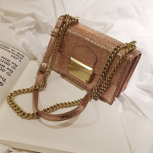 chaîne Gold Sac épaule Rose Mini d'été Sac la de Un Petit Mode ZHANGJIA 41xq0Hq
