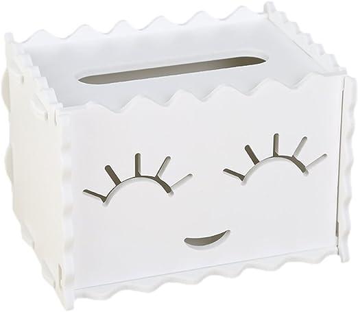 Hosaire 1X Caja de pañuelos faciales,Madera Caja de Cuadrada Caja de Papel servilleta con decoración para Uso Diario,Accesorio de baño Size 16 * 13 * 11.5cm (Style11): Amazon.es: Hogar