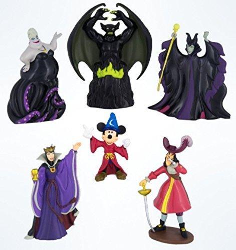 Character Figurine (Disney Sorcerer Mickey Mouse vs. Villains Figurine Figure Set)