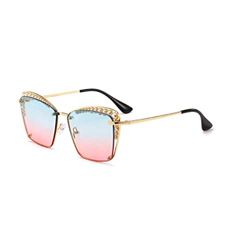 Yangjing-hl Gafas de Sol Retro de la Calle Gafas de Sol de ...