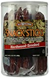 OLD WISCONSIN Beef Snack Sticks, High Protein, Gluten Free, 24 Ounce Resealable Jar