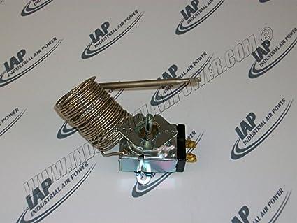 Termostato 1624-5041-48, 50 Amp, 12 - diseñado para uso con compresores de aire Atlas Copco: Amazon.es: Amazon.es
