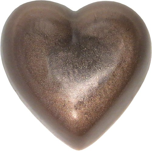 Heart Soap, White Sage, Antique Silver