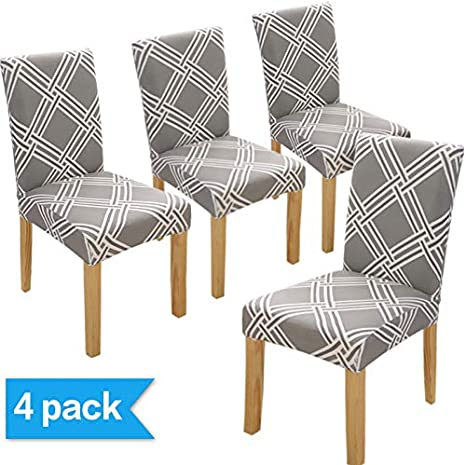 Chairs Covers With Backrest 6 Pieces Elegant Dining Room Chair Covers 4 Pieces And Modern Kitchen
