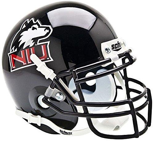 Northern Illinois Huskies Mini XP Authentic Helmet Schutt - NCAA College Football Licensed - Northern Illinois Huskies (Huskies Authentic Mini Helmet)