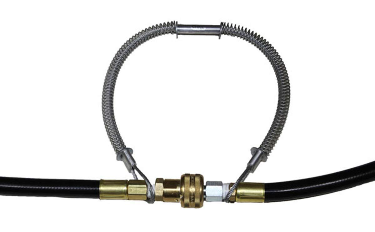 Air Systems International Whipline Check 38'' Restraint Safety Cable With Hose To Hose Connection (For Use With 1 1/2'' - 3'' Hose)