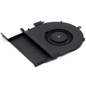 MMOBIEL Laptop CPU Cooling Fan Replacement Compatible with MacBook Pro A1502 Late 2013-2015 Part Nr: 076-1450, 076-00071