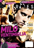 HEROES - THE OFFICIAL MAGAZINE April/May 2009 (Volume 1 Issue Nine, Milo Ventimiglia, Greg Grunberg exclusive interview)