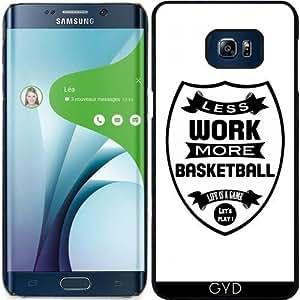 Funda para Samsung Galaxy S6 Edge Plus - Menos Trabajo Más Cesta by wamdesign