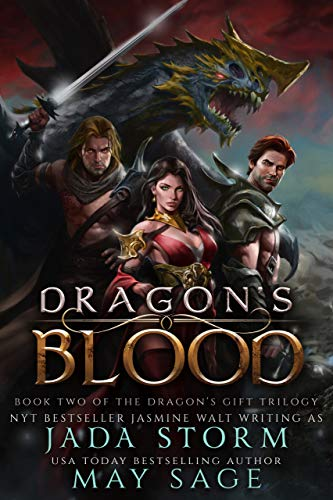 Dragon's Blood: a Reverse Harem Fantasy Romance (The Dragon's Gift Trilogy Book 2) -