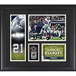 Ezekiel Elliott Dallas Cowboys Framed 15