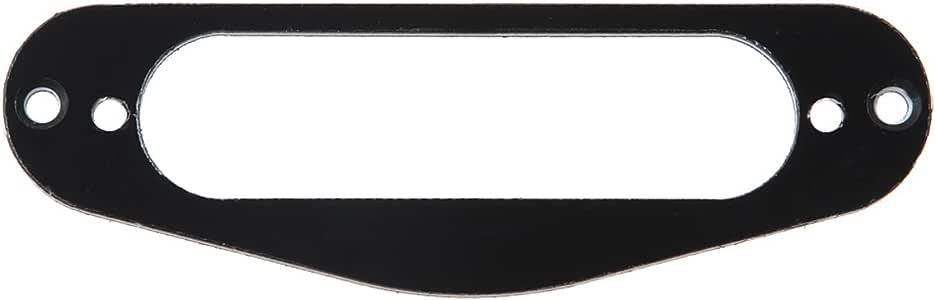 Kmise MI0255 Guitar Single Coil Pickup Mounting Ring, 3-Ply Black