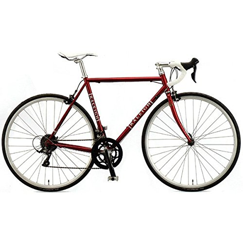 RALEIGH(ラレー) ロードバイク Carlton-A (CRA) ヴィンテージレッド 450mm B07673W823