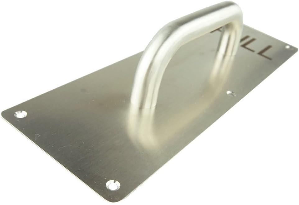 Tirador de puerta de acero inoxidable con placa a prueba de huellas dactilares Remtop
