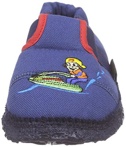 Nanga Wassersport - Pantuflas Niños Azul - Blau (30)