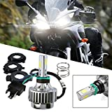 motorcycle headlight bulb - 1pcs H4 Super Bright 6000k 3000lm 32w Dc12v Led Lamp DRL Fog Light LED Motorcycle Headlight Bulb for KTM Honda