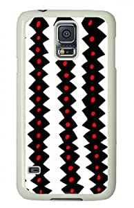 Original Designed Creative Picture Black And White Wave Pattern Case For Samsung Galaxy i9600 S5 by icecream design