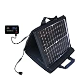 Gomadic SunVolt Powerful and Portable Solar Charger suitable for the Novatel Mifi 4620L - Incredible charge speeds for up to two devices