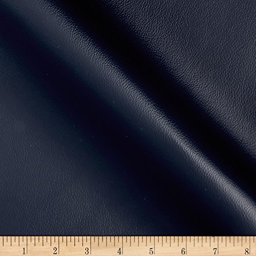 (Richloom Fabrics 0448744 Richloom Fortress Marine Vinyl Lakeferry Navy Fabric by the Yard)