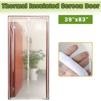 Magnetic Thermal Insulated Door Curtain For Air