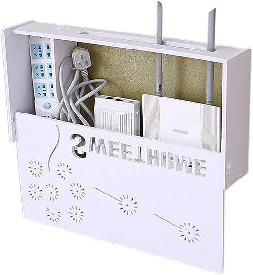 YYQXR WiFi Router Estante Soplado Libre Pared Montaje Set-Superior ...