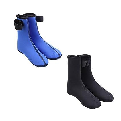 QIND - Calcetines de Buceo Unisex de Neopreno, Calcetines de Playa, Botas Antideslizantes para