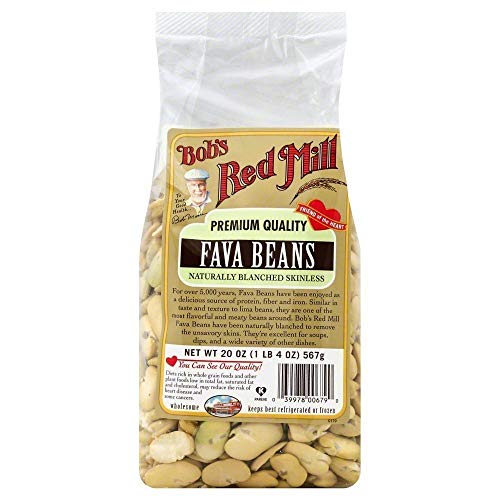 (Bobs Red Mill Beans Fava 20.0 OZ(Pack of 3))