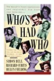 Sex -- Who's Had Who, Simon Bell and Richard Curtis, 0446390429