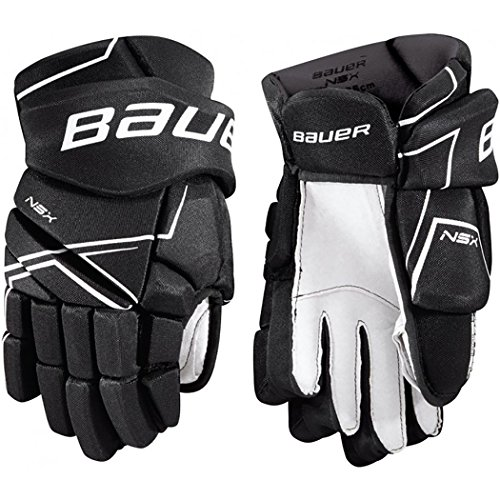 Gloves In Hockey Line (Bauer NSX Hockey Gloves (11 Inch - Black))