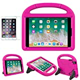 iPad Mini 1/2/3/4 Case for Kids, SUPLIK Shockproof Protective Handle Bumper Stand Cover with Kickstands and Screen Protector for Apple 7.9 inch iPad Mini 1st,2nd,3rd,4th Generation, Pink