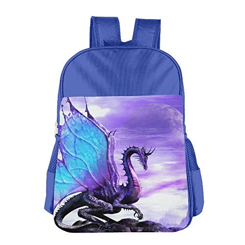 Kash NY Fantasy Dragon Durale Kids School Backpack Bookbag School Bags