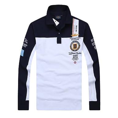 035dbc7f311590 Amazon   ポロシャツ長袖メンズ おしゃれゴルフウェア スポーツウェア稀少秋冬 長袖   シャツ 通販